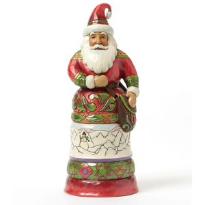 Heartwood Creek Santa Figurine Kindly Kris Kringle