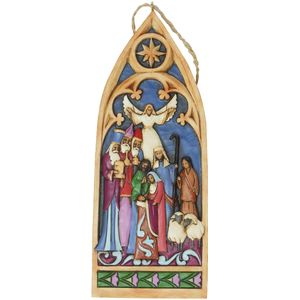 Heartwood Creek Cathedral Window Hanging Ornament