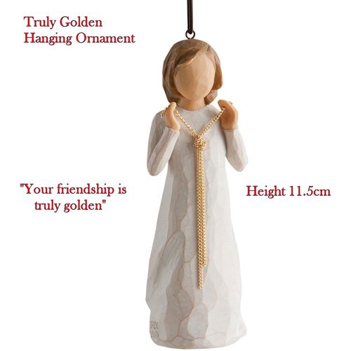 Willow Tree Truly Golden Hanging Ornament 27273