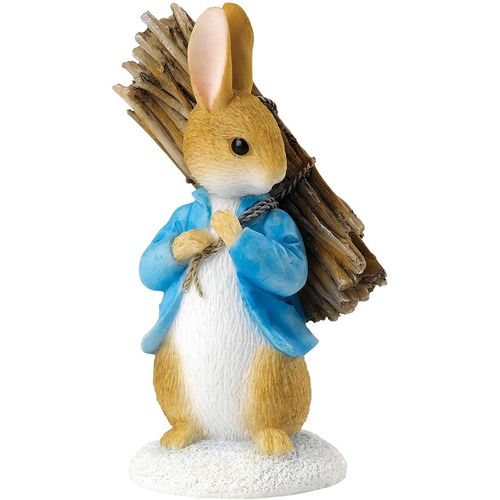 Beatrix Potter Peter Rabbit Carrying Sticks Figurine A26906