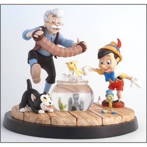 Border Fine Arts Disney a Moment in Time Pinocchio