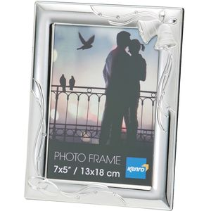 "Wedding Bells & Rings 7x5"" Photo Frame"