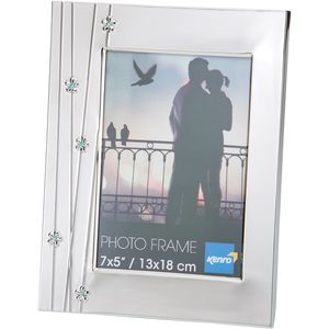"Daisy Design series 6x4"" metal photo frame"