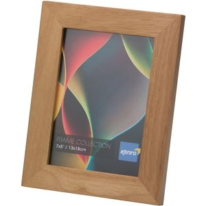 "RIO Photo Frame 4x6"" Natural wood"