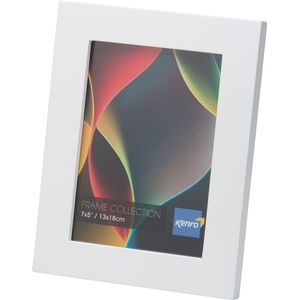 "RIO Photo Frame 5x7"" white wood"