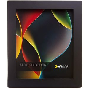 "Kenro Rio Collection Photo Frame 6x8"" - Black"