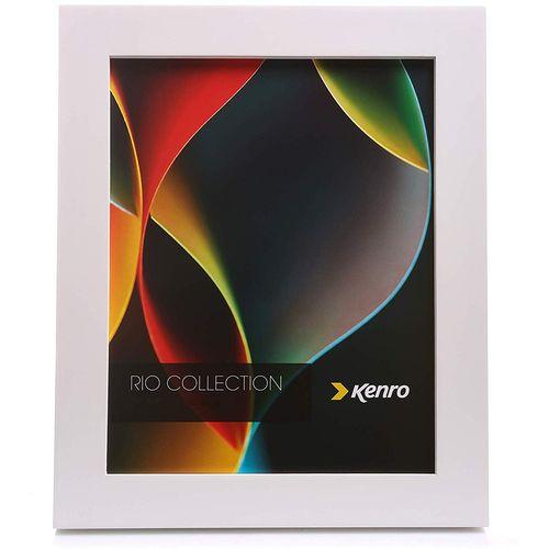 """Kenro RIO Collection Photo Frame 8"""" x 10"""" - White Wood"""