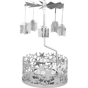 Winter Filigree Carousel Tea Light Holder: Gift Boxes