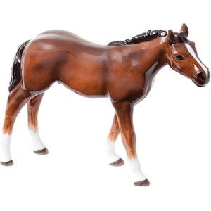 John Beswick Thoroughbred Foal Light Bay Horse Figurine
