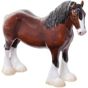 John Beswick Clydesdale Horse Figurine