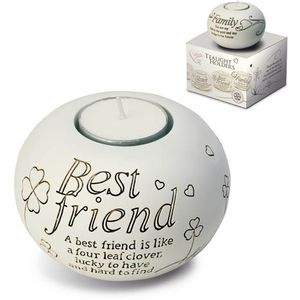Said with Sentiment Best Friend Tealight Candle Holder