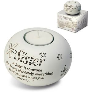 Said with Sentiment Sister Tealight Candle Holder