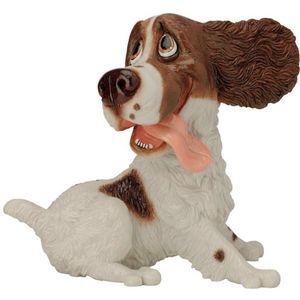 Pets with Personality Springer Spaniel (Liver & White)