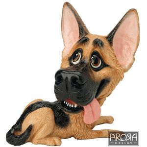 Little Paws Argo German Shepherd Dog Figurine