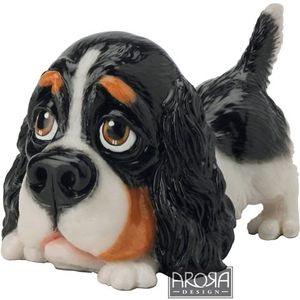 Little Paws Cavalier King Charles Spaniel Dog Figurine