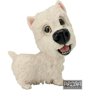 Little Paws Harry the Westie Dog Figurine