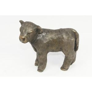 Oriele Cold Cast Bronze Figurine - Highland Calf