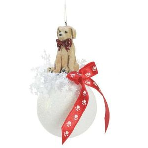 Christmas Dog Weiste Tree Decoration
