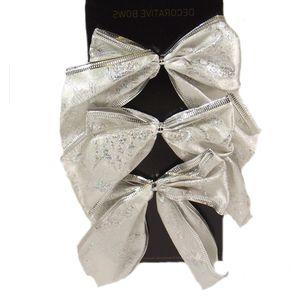 x6 Silver bows (Swirly line)
