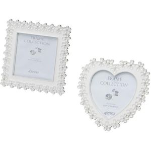 Heart & Square shaped Photo Frames Gift Set