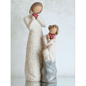 Willow Tree Figurines Set Mother and Daughter Option 2