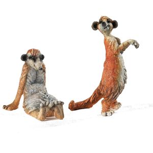 A Breed Apart Mini Kingdom Figurines - Pair of Meerkats