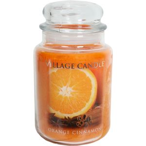 Village Candle Orange Cinnamon Large Jar Candle (26oz)