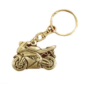 English Pewter Motorbike Keyring
