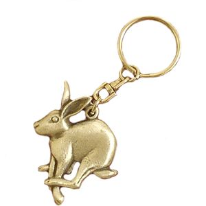 English Pewter Mad March Hare Keyring