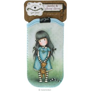 Santoro Gorjuss Media & Phone Sleeve - Forget Me Not