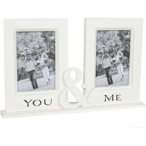 You & Me Couple Photo Frame