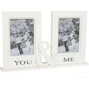 You & Me Couple Photo Frame