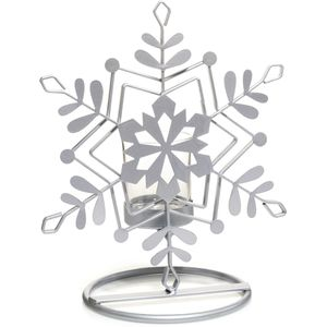 Yankee Candle Accessory - Candle Holder Snowflake Metal