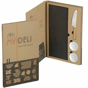 Arthur Price Kitchen My Deli Slate Deli Board Gift Set