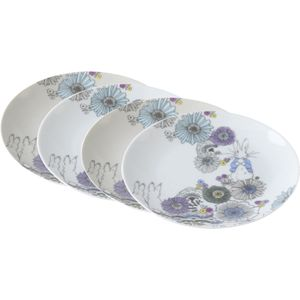 Beatrix Potter Peter Rabbit Contemporary Dessert Plates Set of 4