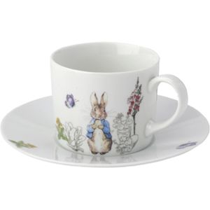 Peter Rabbit Classic Design Cup & Saucer set