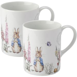 Peter Rabbit Classic Mugs Set of 2