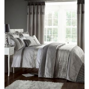 Catherine Lansfield Gatsby Duvet Quilt Cover Set - Super King Size Bed