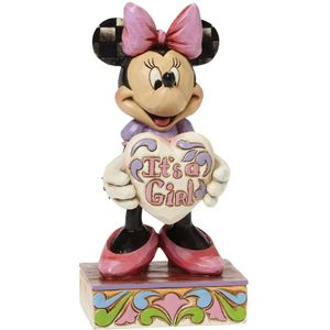 Disney Traditions Its a Girl Minnie Mouse Figurine