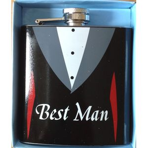 Best Man Hip Flask Wedding Gift