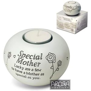 Said with Sentiment Candle Holder: Special Mother