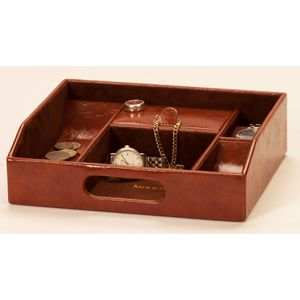 Mele & Co Gents Raffles Collection Open Top Organiser