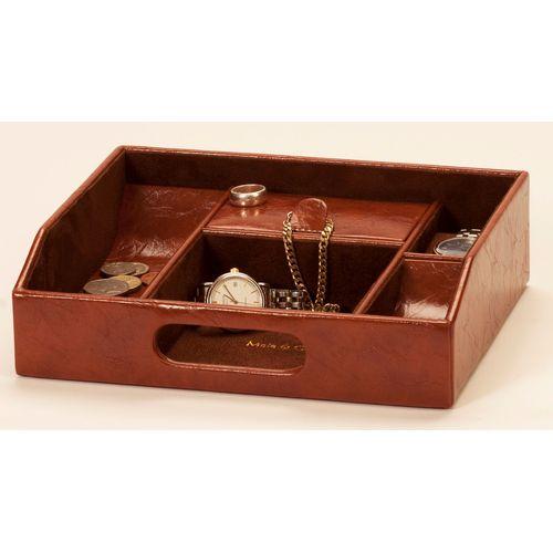 Mele & Co Gents Raffles Collection Open Top Organiser