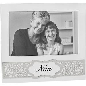 "Daisy Flowers Sentiment Photo Frame 6"" x 4"" - Nan"