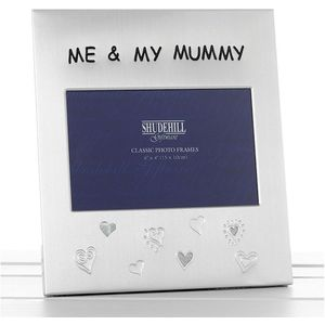 "Message Photo Frame 6x4"" - Me & My Mummy"