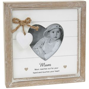 Provence Message Photo Frame with verse - MUM