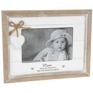 "Provence Sentiment Photo Frame 6"" x 4"" - Mum"