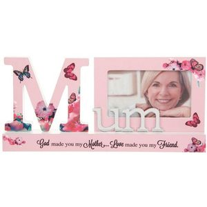 Reflections Sentiment Photo Frame Block - Mum