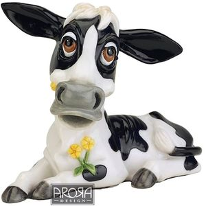 Little Paws Buttercup Cow Figurine