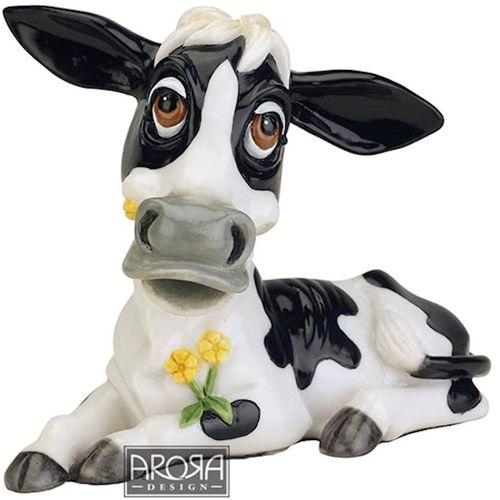 Arora Design Little Paws Cow Figurine